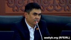 Қирғизистон парламенти депутати Айбек Осмонов