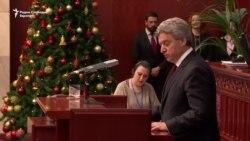 Само пратениците од ВМРО-ДПМНЕ задоволни од Иванов