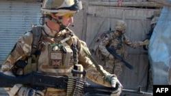 Ооганстандагы британ аскерлери.