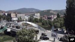 Pamje nga veriu i Mitrovicës