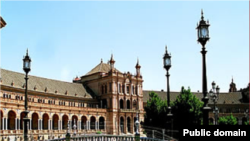 Piața Spaniei la Sevilla