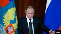 Президент Росії Володимир Путін виступає перед російськими дипломатами, Москва, 30 червня 2016 року