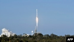 Запуск ракети Falcon 9, архівне фото