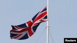 Флаг Великобритании. Иллюстрация