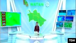 Государственное телевидение Туркменистана не освещает проблемы