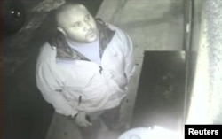 Крис Дорнер - кадр с записи камеры наблюдения в Orange County Hotel
