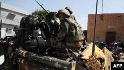 Ֆրանսիացի զինծառայողները Մալիում, 14-ը փետրվարի, 2013թ.