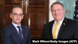 Держсекретар США Майк Помпео (п) та міністр закордонних справ Німеччини Гайко Маас, архівне фото