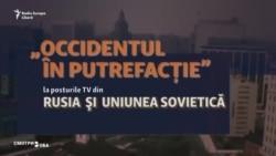 """""""Occidentul în putrefacție"""" la posturile TV din Rusia și fosta URSS"""
