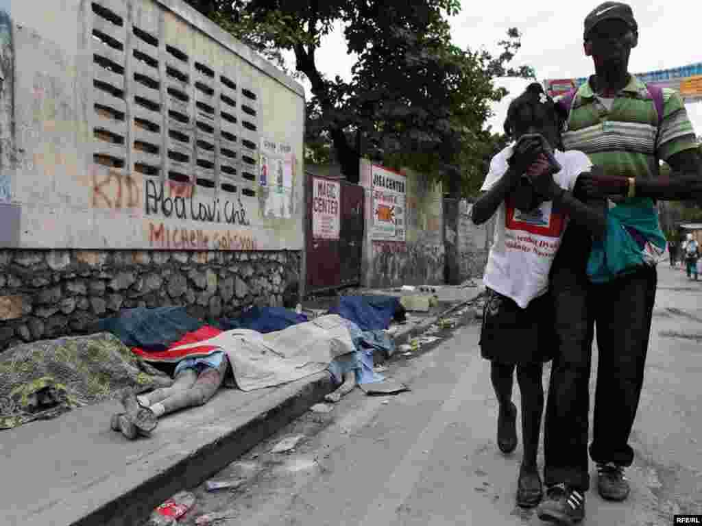 Haiti təbii fəlakətlə üz-üzə #4