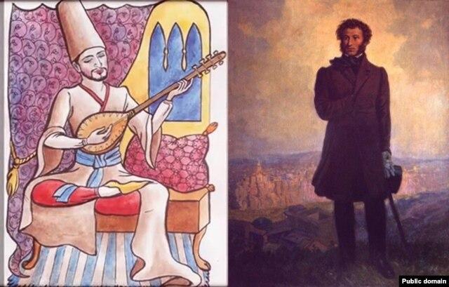 Ашик Умеров и Александр Пушкин