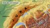 Юрский горный массив юго-востоке Франции близ границы со Швейцарией