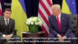 Trump To Zelenskiy: I Really Hope You Get Together With Putin, 'Solve Your Problem'