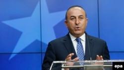 Туркия Ташқи ишлар вазири Мевлут Чавушўғли.