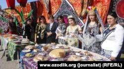 Празднование «Навруза» в Самарканде.