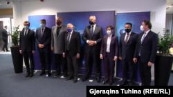 Liderët e Ballkanit Perëndimor para takimit joformal me shefin e diplomacisë së BE-së, Josep Borrell.