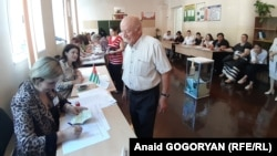 Separatist election authorities say that 116,000 people are registered to across Abkhazia on August 25.