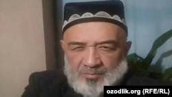 Uzbek blogger Abbos Nasriddinov (file photo)