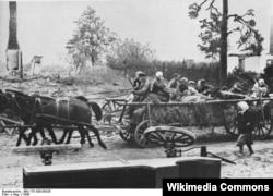 Alman qaçqınları, 1945