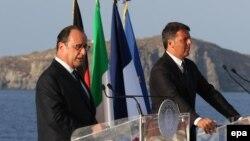 رهبران فرانسه و ایتالیا