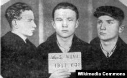 Максім Танк — вязень Лукішак. Вільня, 1932