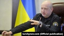 Секретарь СНБО Украины Александр Турчинов
