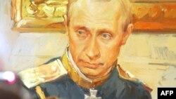 Putin çar obrazında. Foto arxiv
