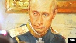 Портрет Путина (а-ля полотно Репина) работы Сергея Калинина и Фарида Богдалова