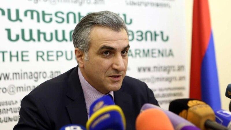 Հայաստանի գյուղնախարարը մեկնել է Ֆրանսիա