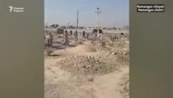 Сотни людей протестовали против сокращения территории кладбища