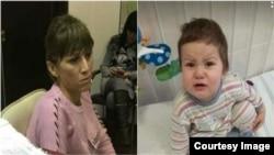 Нилуфар Мамасаидова и ее дочь