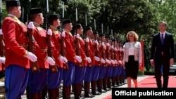 Министерка за одбрана Радмила Шекеринска
