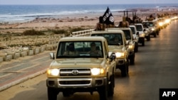 Militants who have pledged allegiance to Islamic State now control some territory in Libya. (file photo)