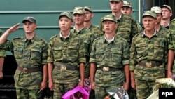 Российские военнослужащие в Абхазии (архивное фото)