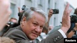 Boris Jeljcin, Moskva, 1991.