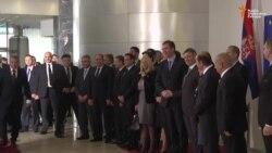 Delegacija Vlade Srbije dočekana uz najviše vojne počasti