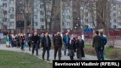 Город Грозный в день президентских выборов 18 марта 2018 года