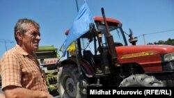 Sa prošlogodišnjeg protesta poljoprivrednika.