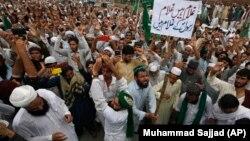 Pakistanda etirazlar