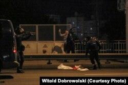 Фота Вітальда Дабравольскага зь Менску 9 жніўня