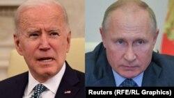 Joe Biden și Vladimir Putin