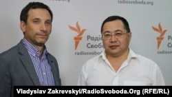 Виталий Портников и Ермек Нарымбаев