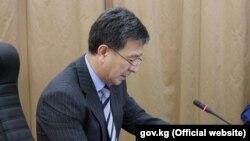Первый вице-премьер-министр Аскарбек Шадиев.