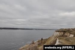 Вид на Волгу с высокого берега