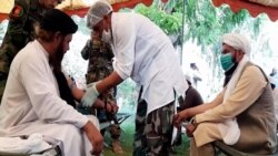 Clerics Give Blood For Afghan Troops As Taliban Advances