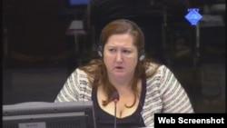 Dorothea Hanson svjedoči na suđenju Ratku Mladiću