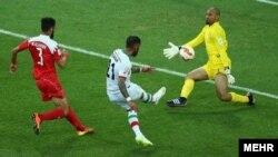 ایران در بازی خود با دو گل بحرین را شکست داد