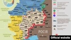 Ситуація в зоні бойових дій на Донбасі, 14 вересня 2015 року