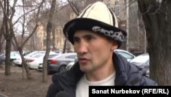 Активист Курал Медеуов. 16 марта 2018 года.