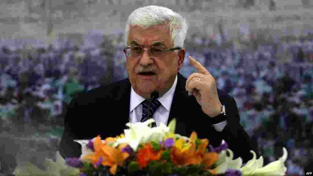 Президент Палестины Мухаммед Аббас